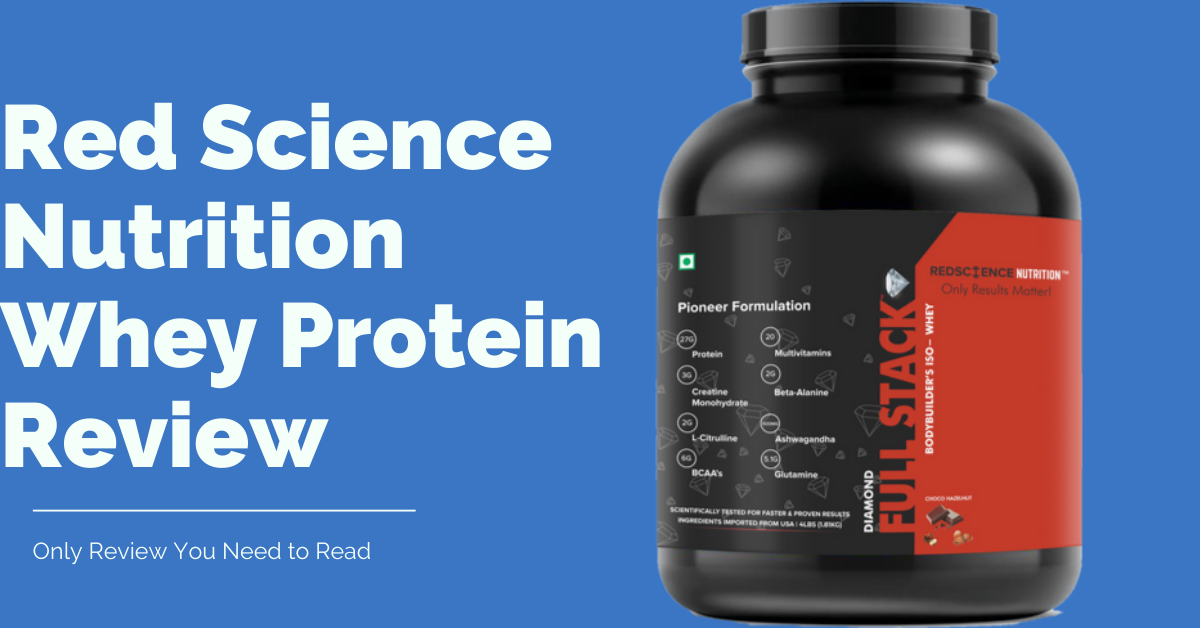 Red Science Nutrition Whey Protein Review