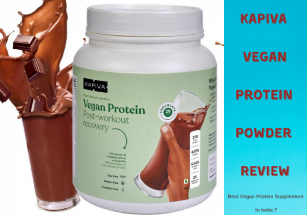 Kapiva Vegan Protein Powder Supplement Review