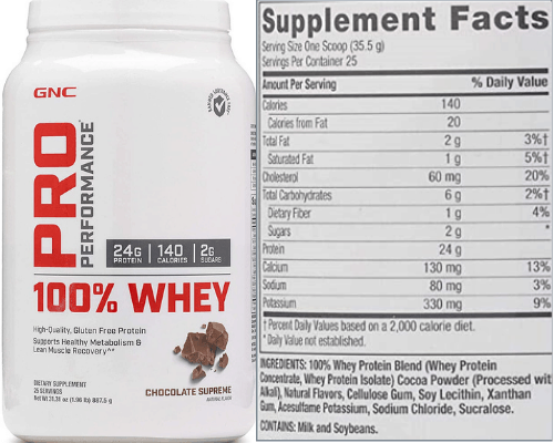 GNC Pro Performance Whey Protein Powder Review