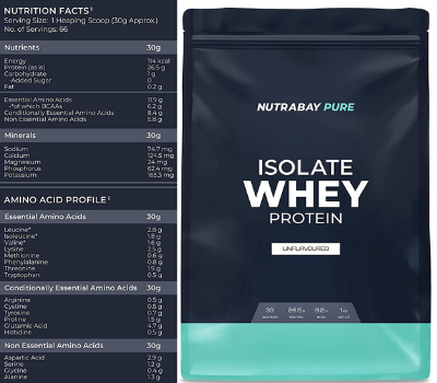 Nutrabay Whey Protein Isolate Review