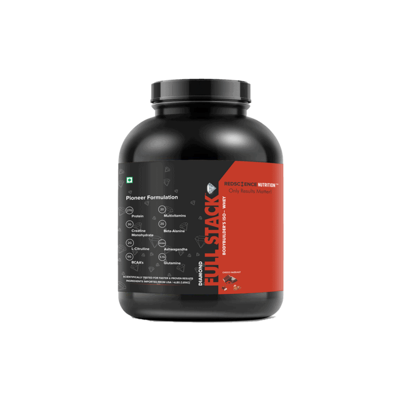 Red Science Full Stack Whey Protein Powder