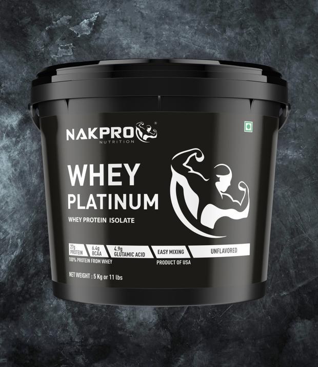 Nakpro whey protein isolate review