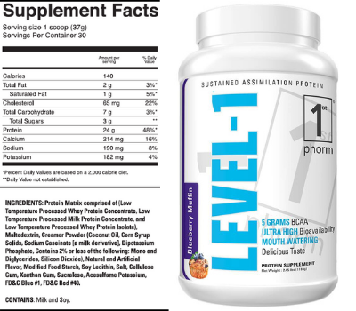 first phorm level one meal replacement protein